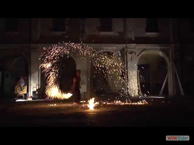 Sascia B Terzofuochista Fire Show Promo
